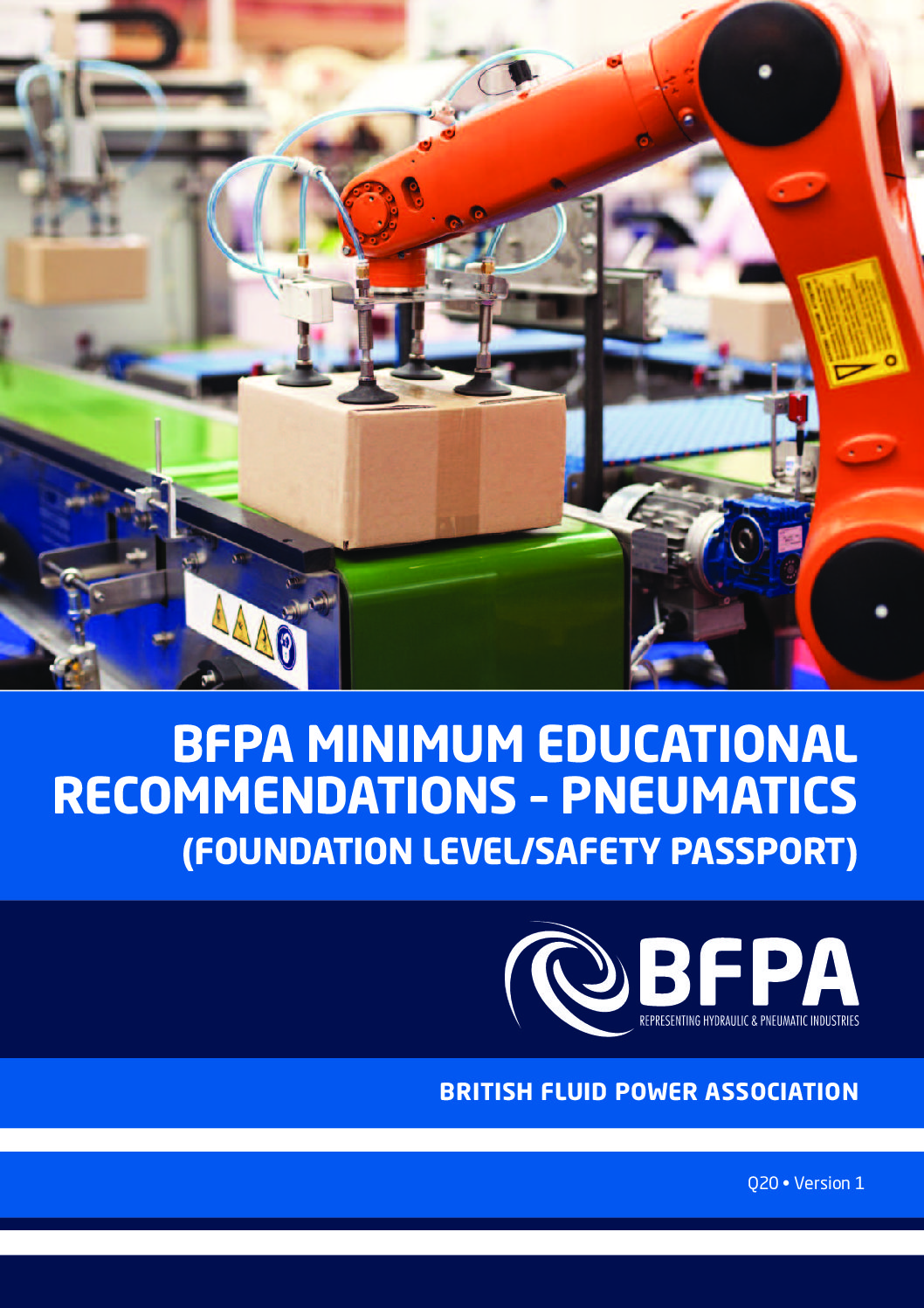 BFPA Minimum Educational Recommendations – Pneumatics