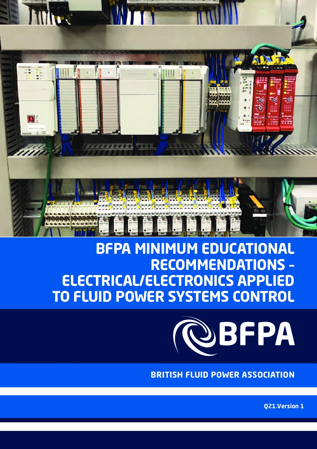 BFPA Minimum Educational Recommendations – Electrical/Electronic Applied to Fluid Power Systems Control